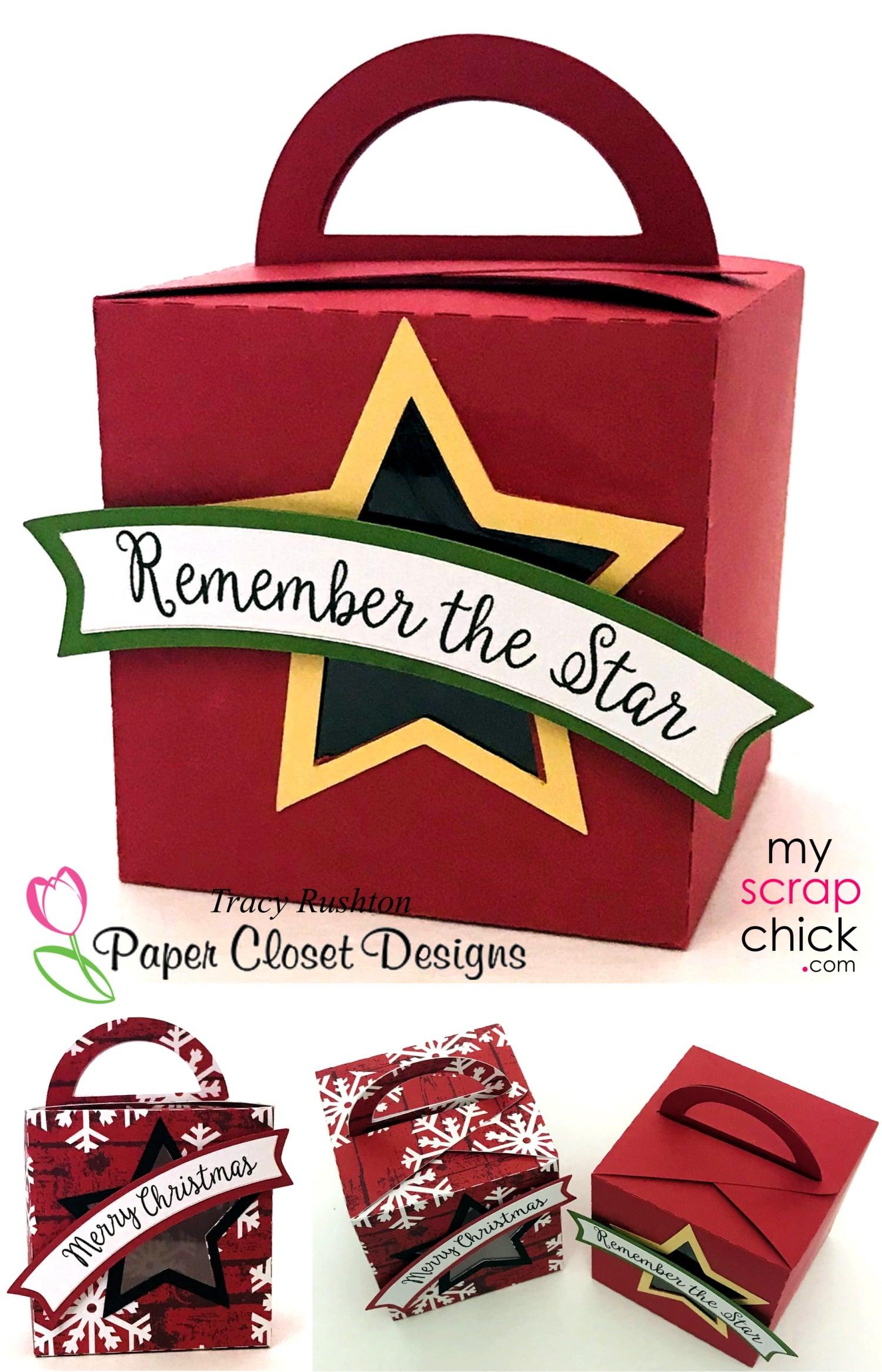 Christmas Star Box with Handle
