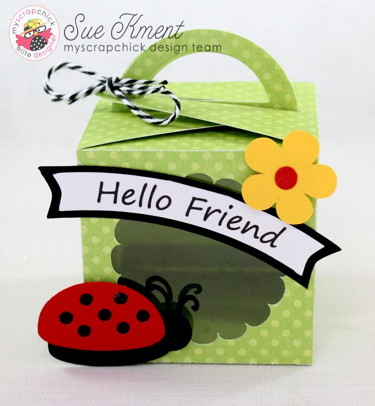 Hello Friend Ladybug Box