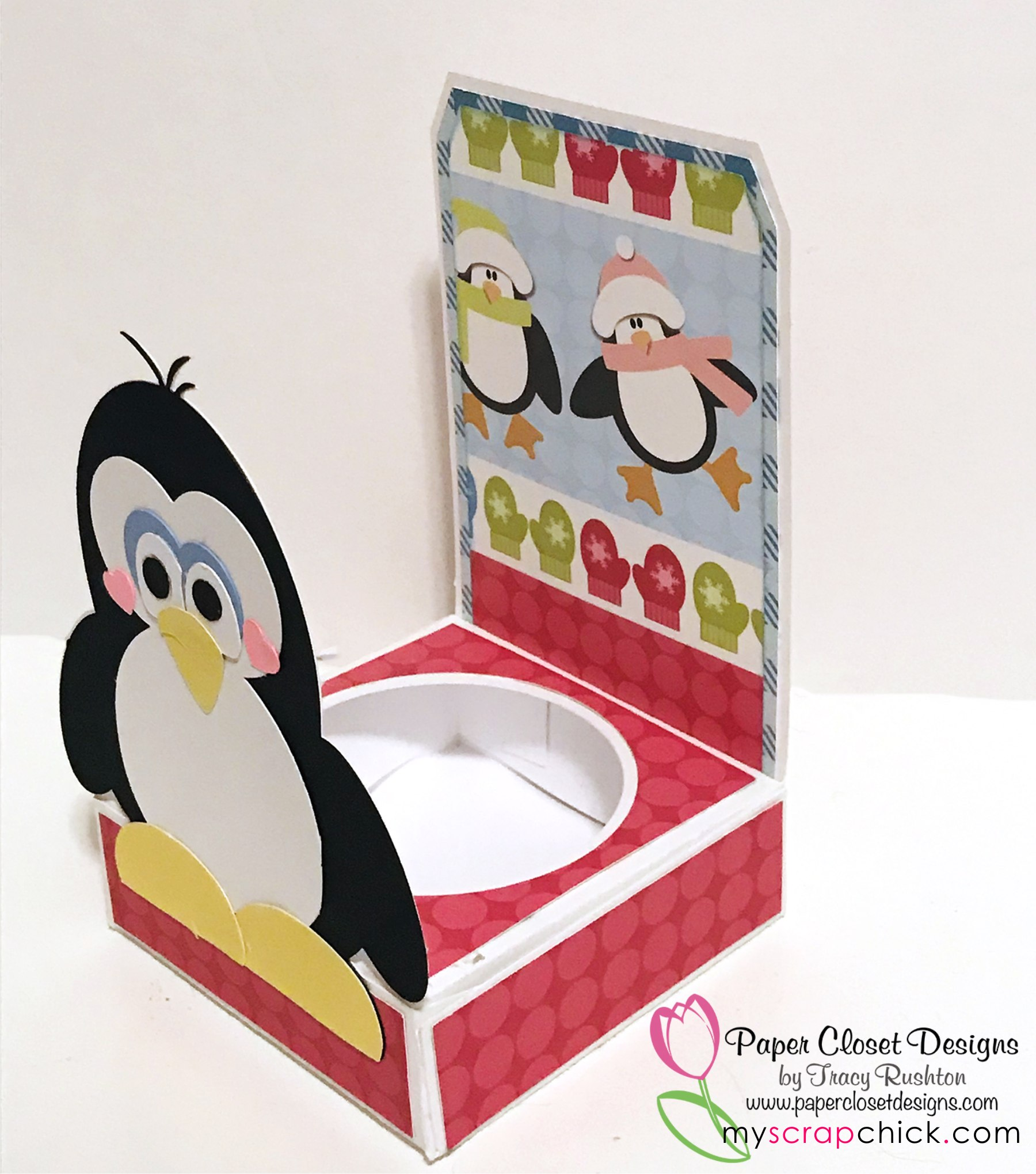 12 oz Penguin Tote