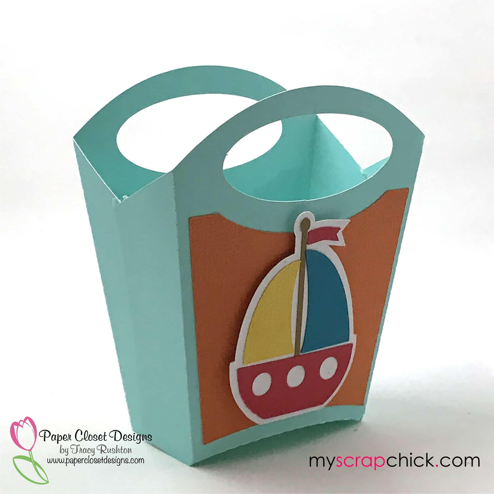 Beach Bag with Sail Boat 4