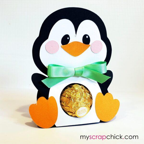 Penguin Treat Holder