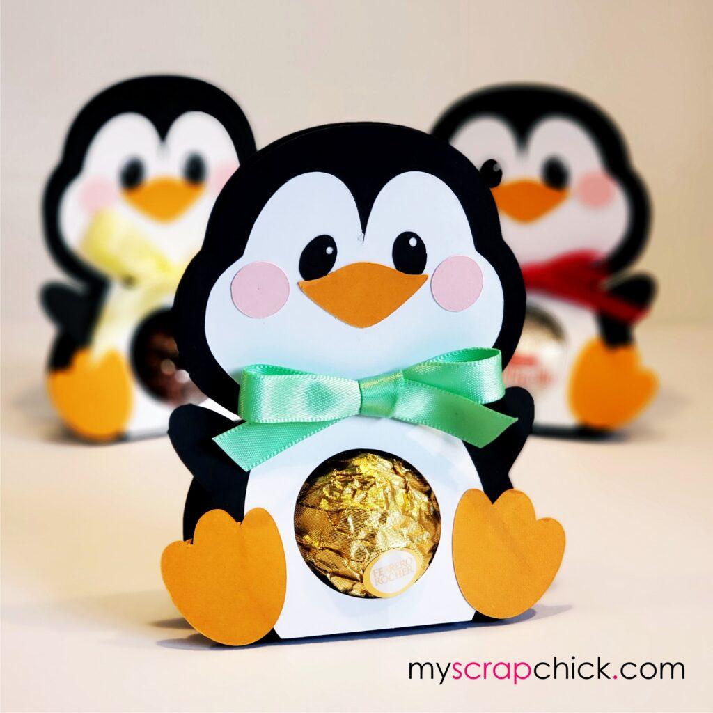 Penguin Sweet Treat Belly in SVG
