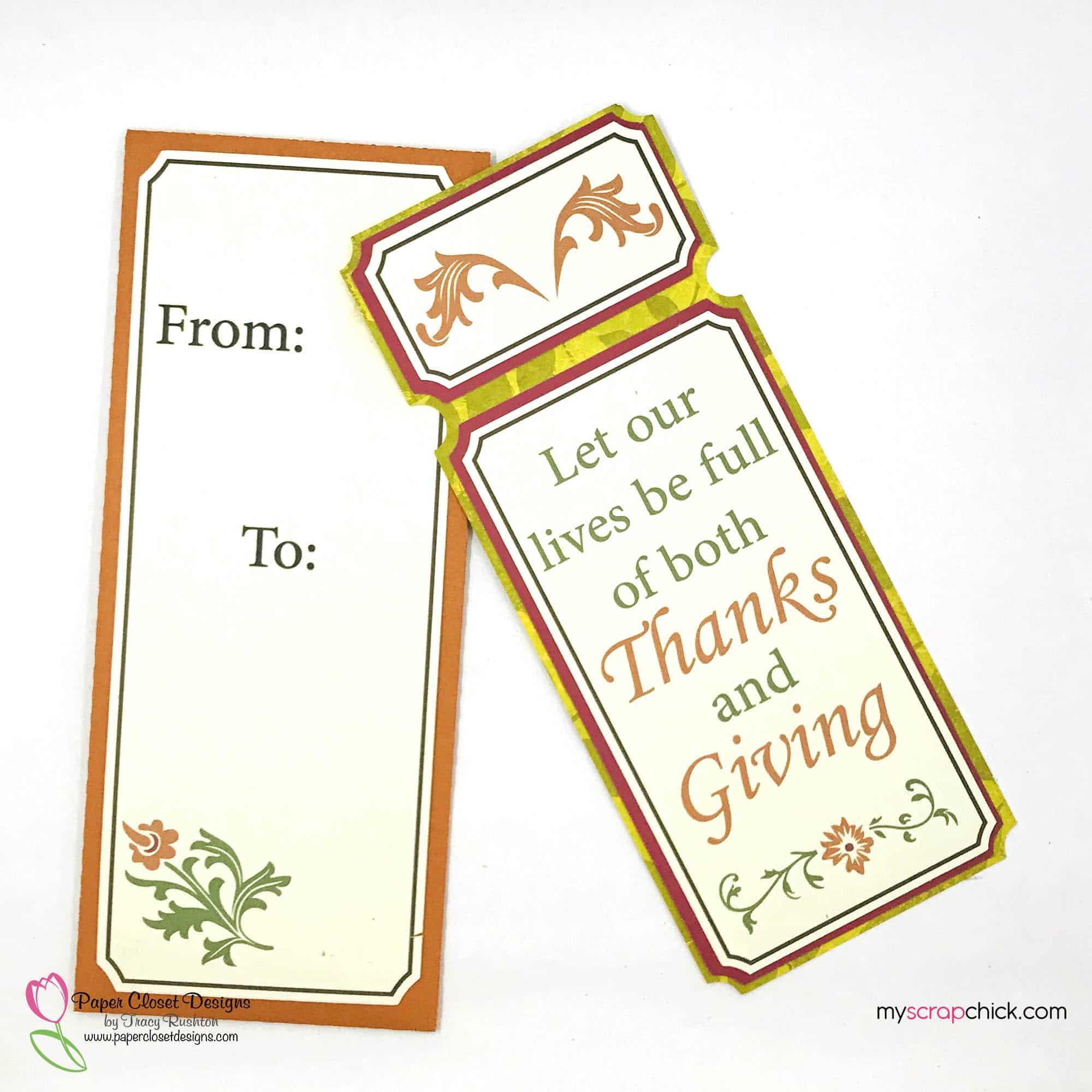 Thanksgiving Ticket