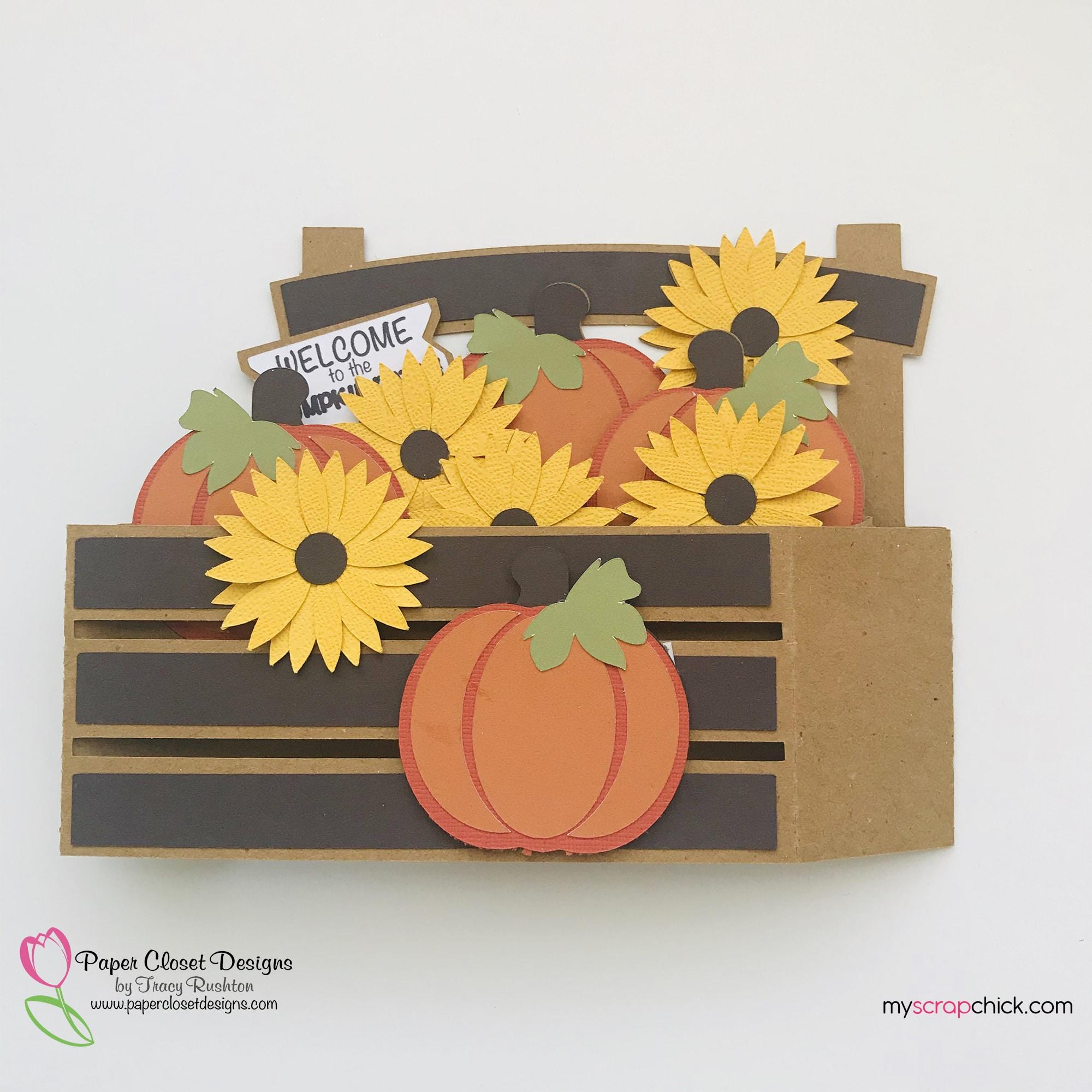 Pumpkin patch Box Card Folded