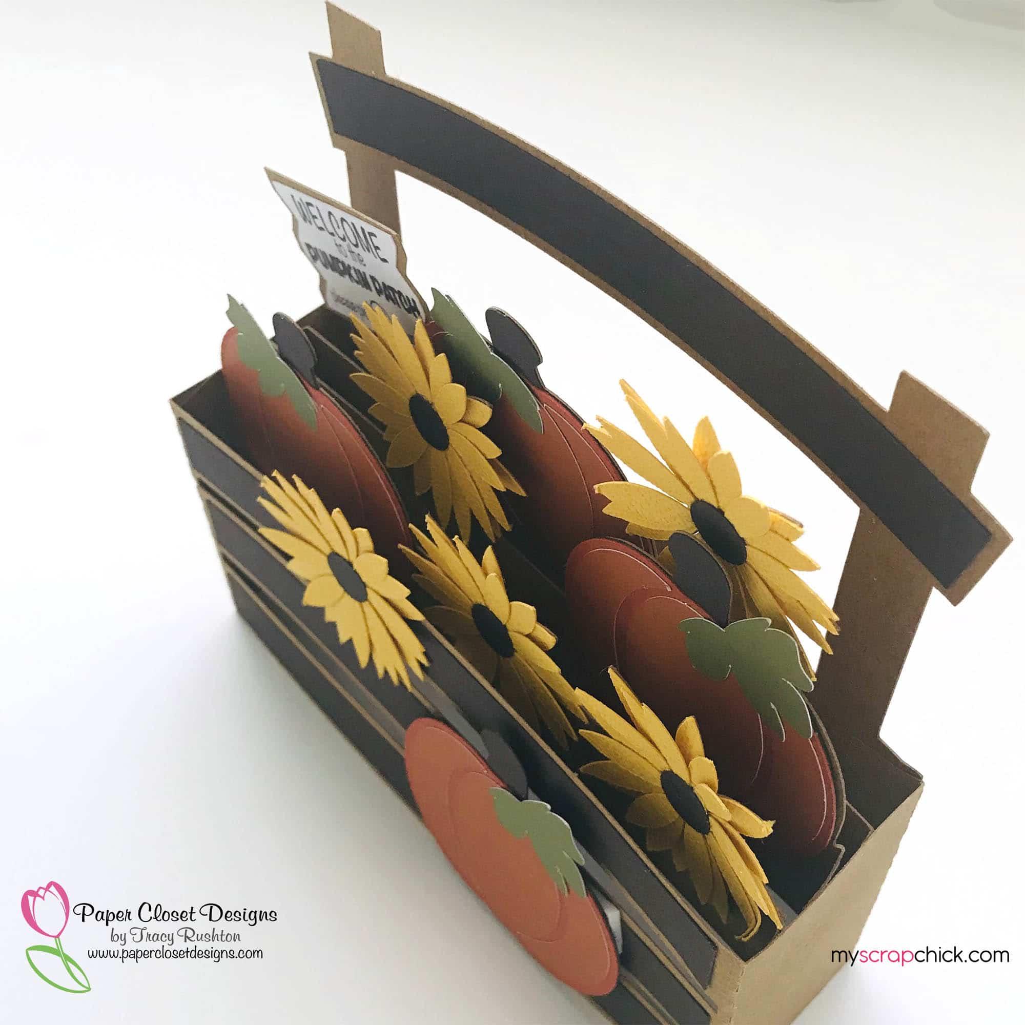 Pumpkin patch Box Card Top