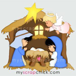 Christmas Manger Nativity Printables