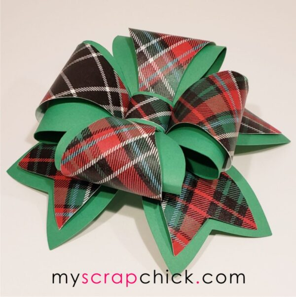 Paper Gift Bow svg