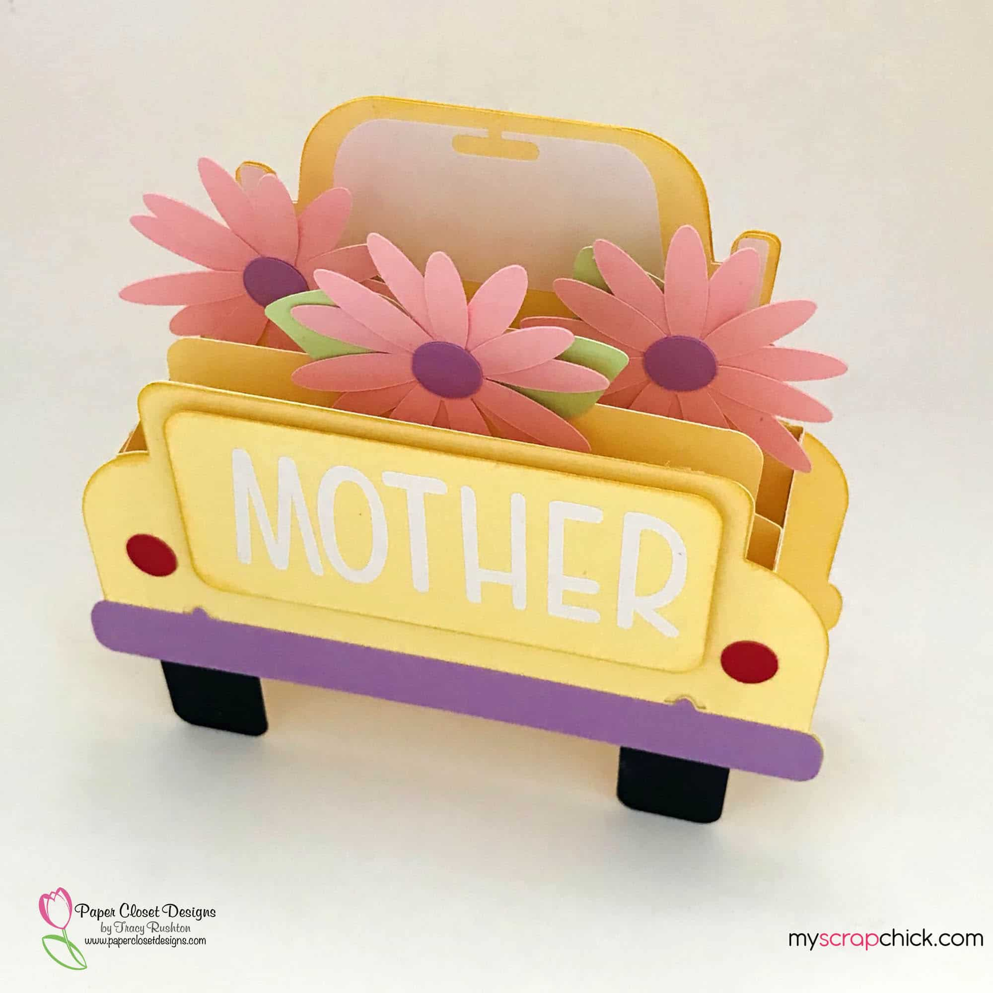 Mothers Truck Box Card Side
