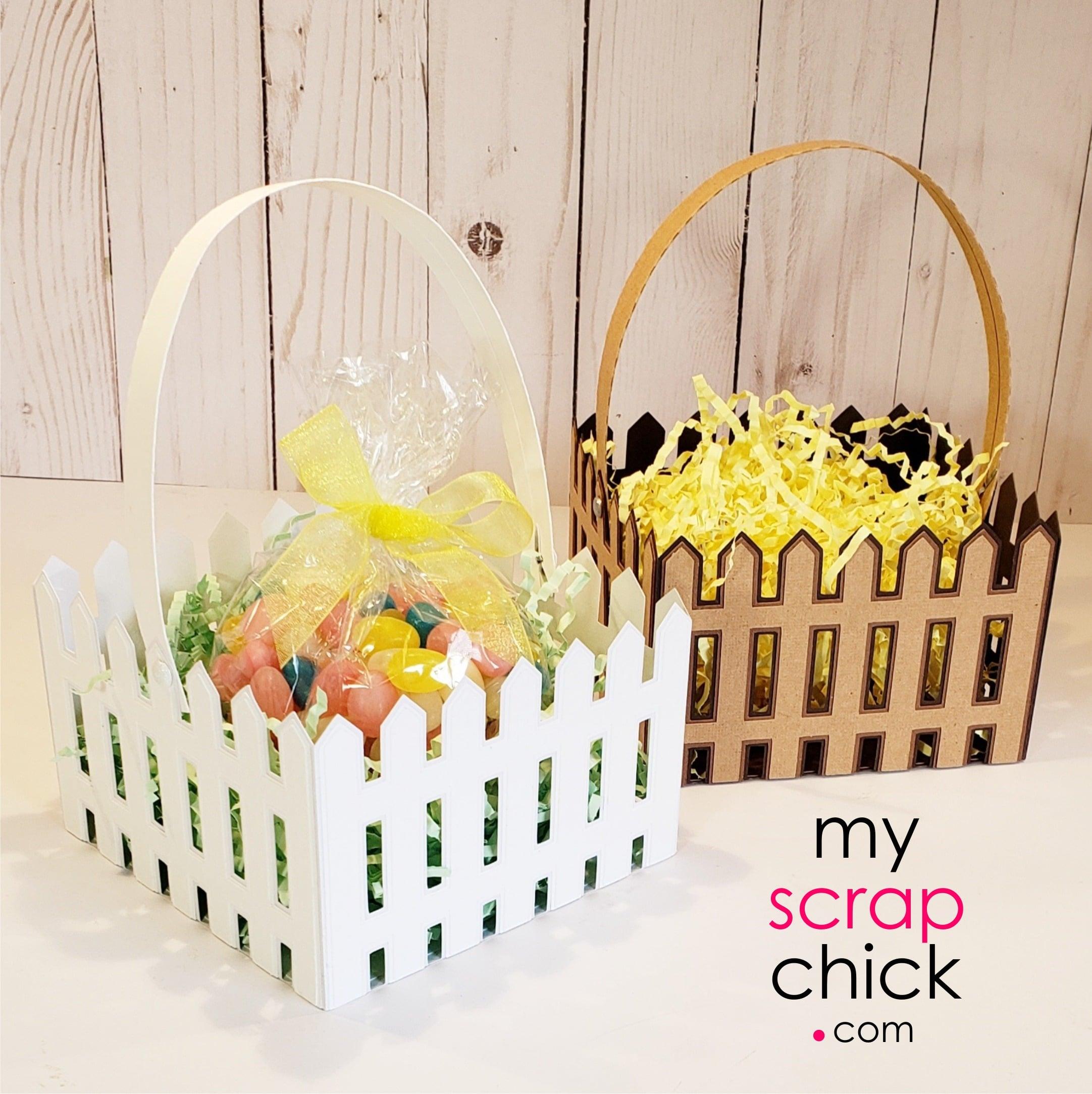 Picket Fence Basket 1