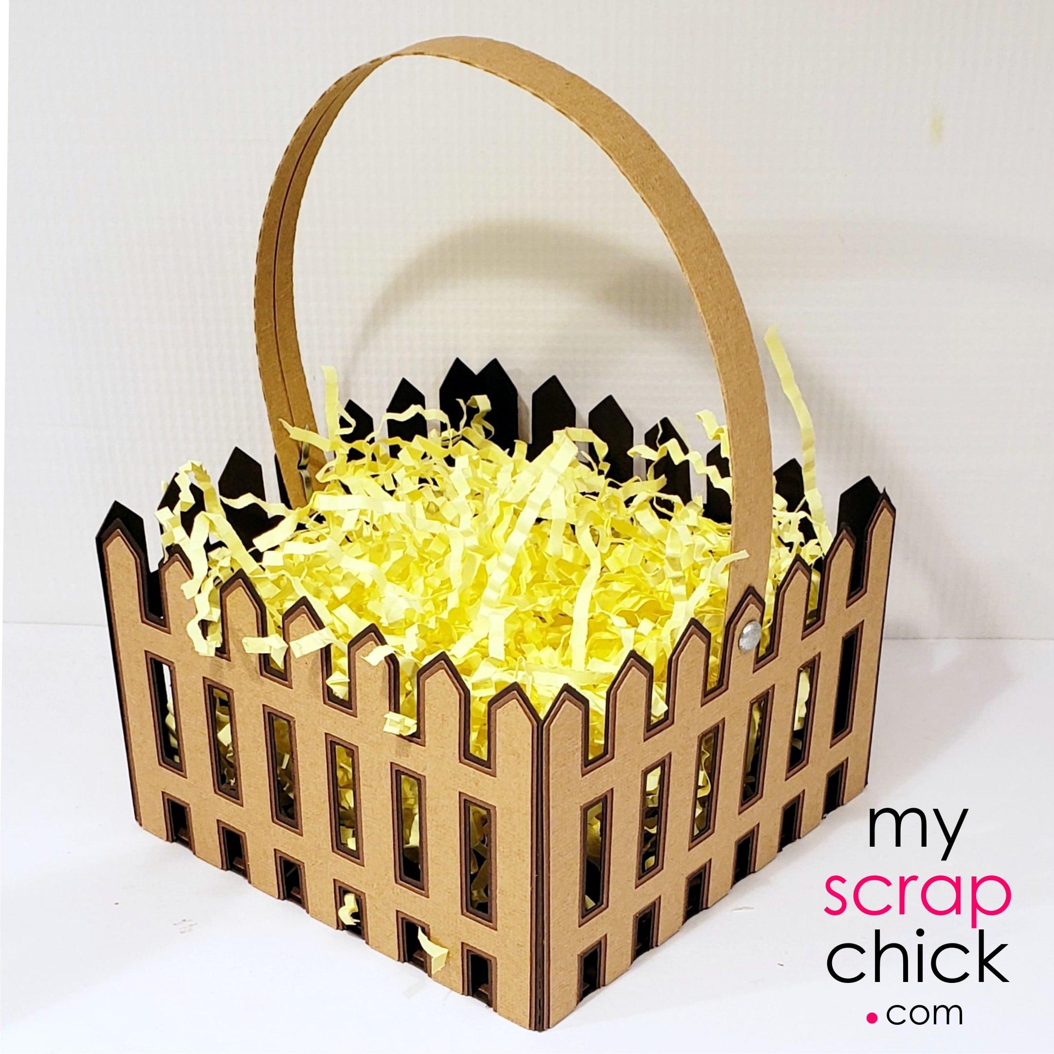 Picket Fence Basket 2
