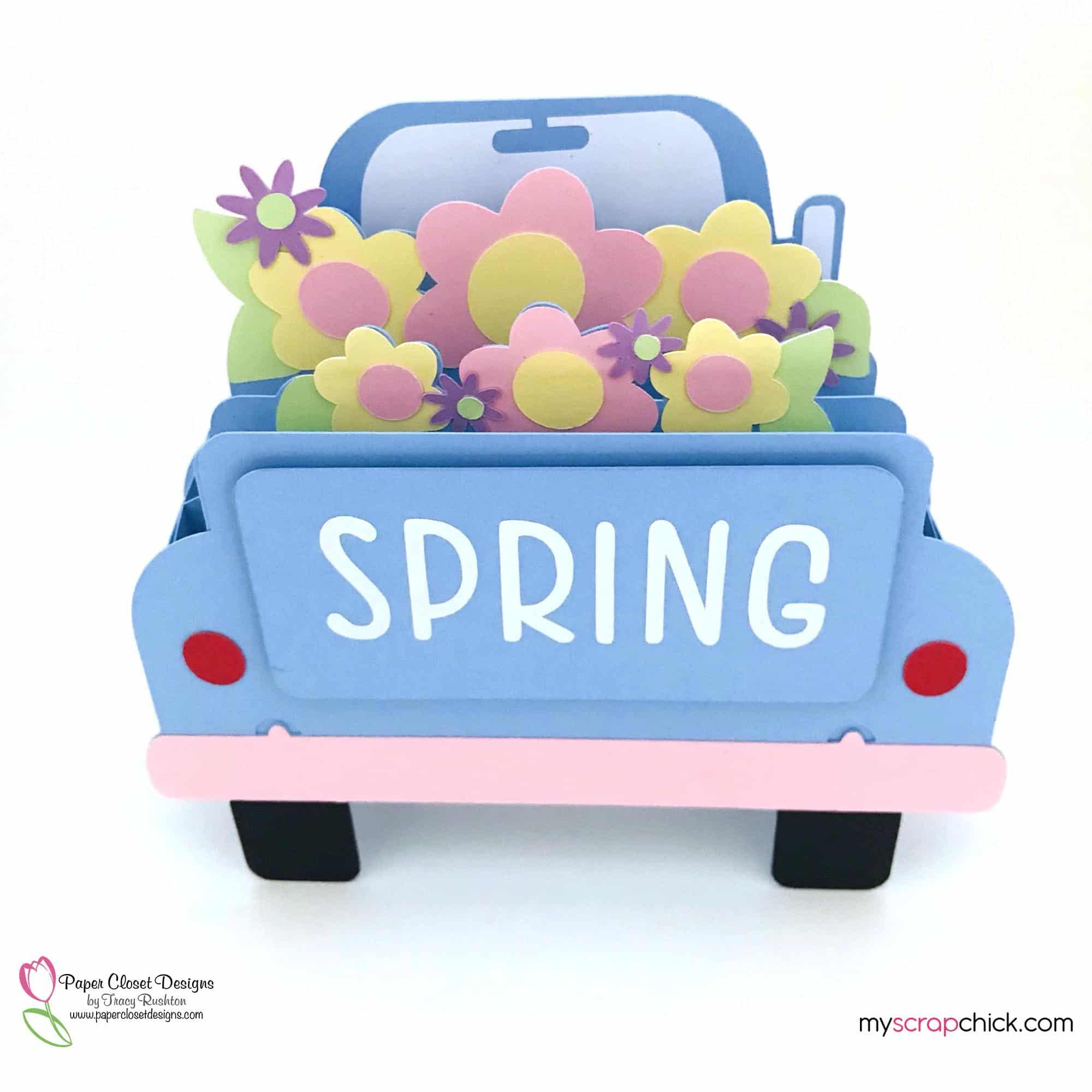 Spring Truck Box Card Top