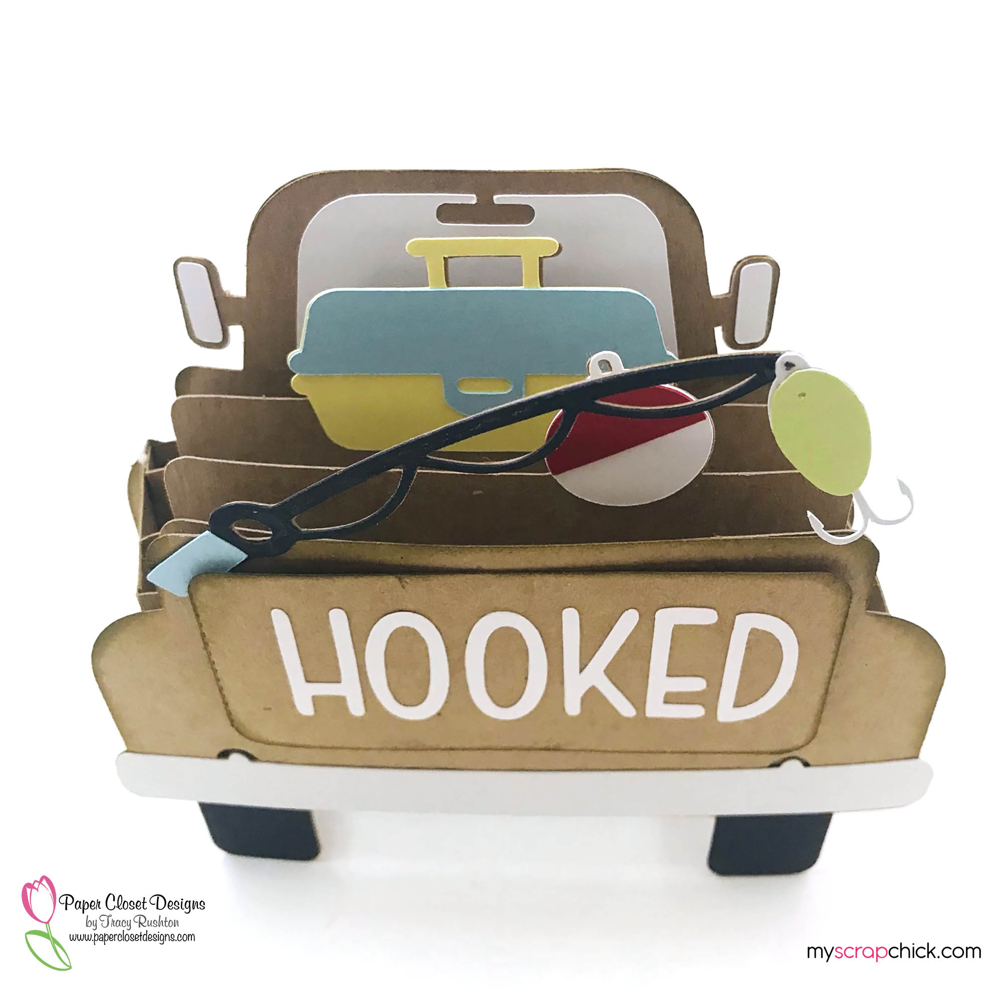 Hooked Truck Box Card Top