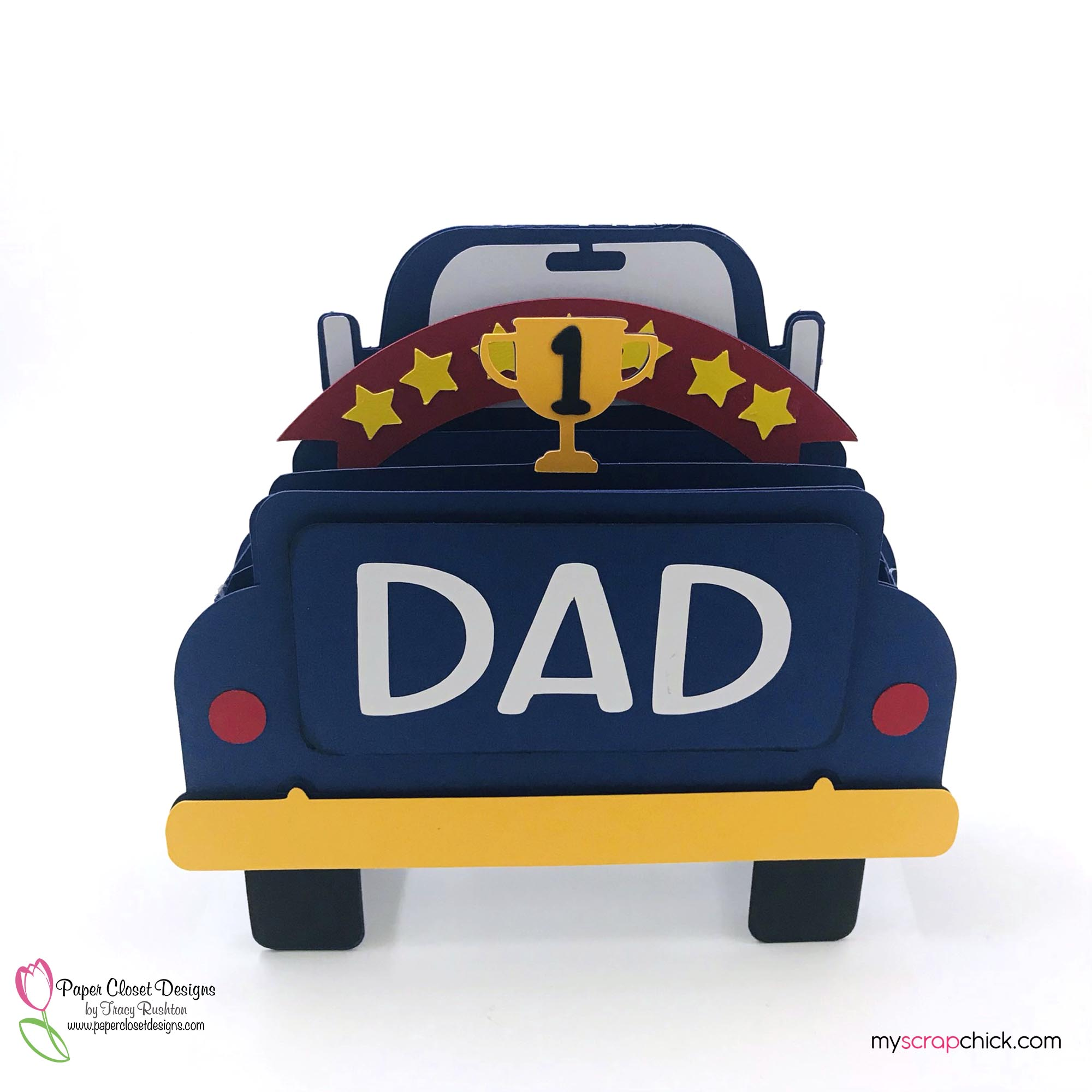 Number 1 Dad Truck Box