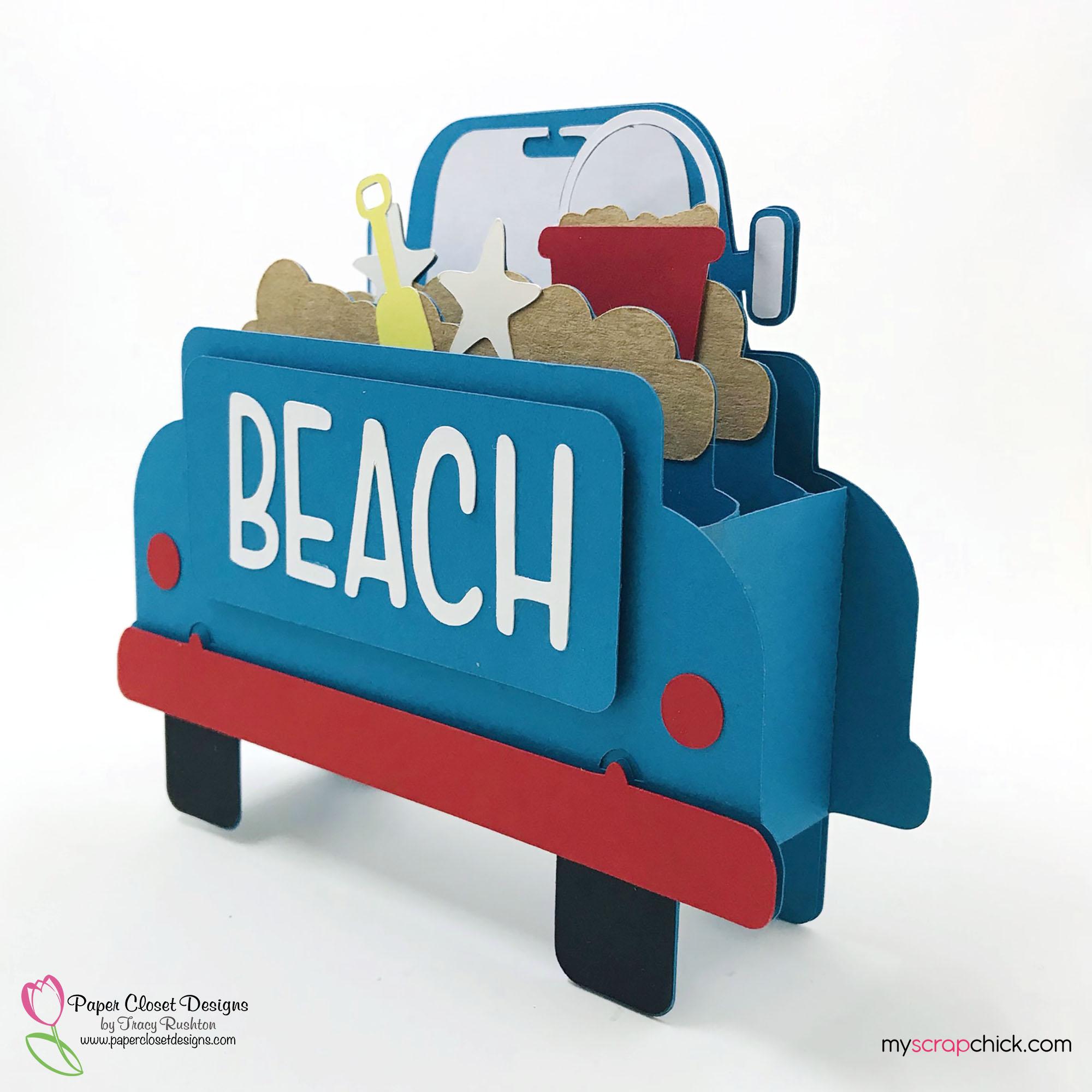 Beach Truck Box Card 1
