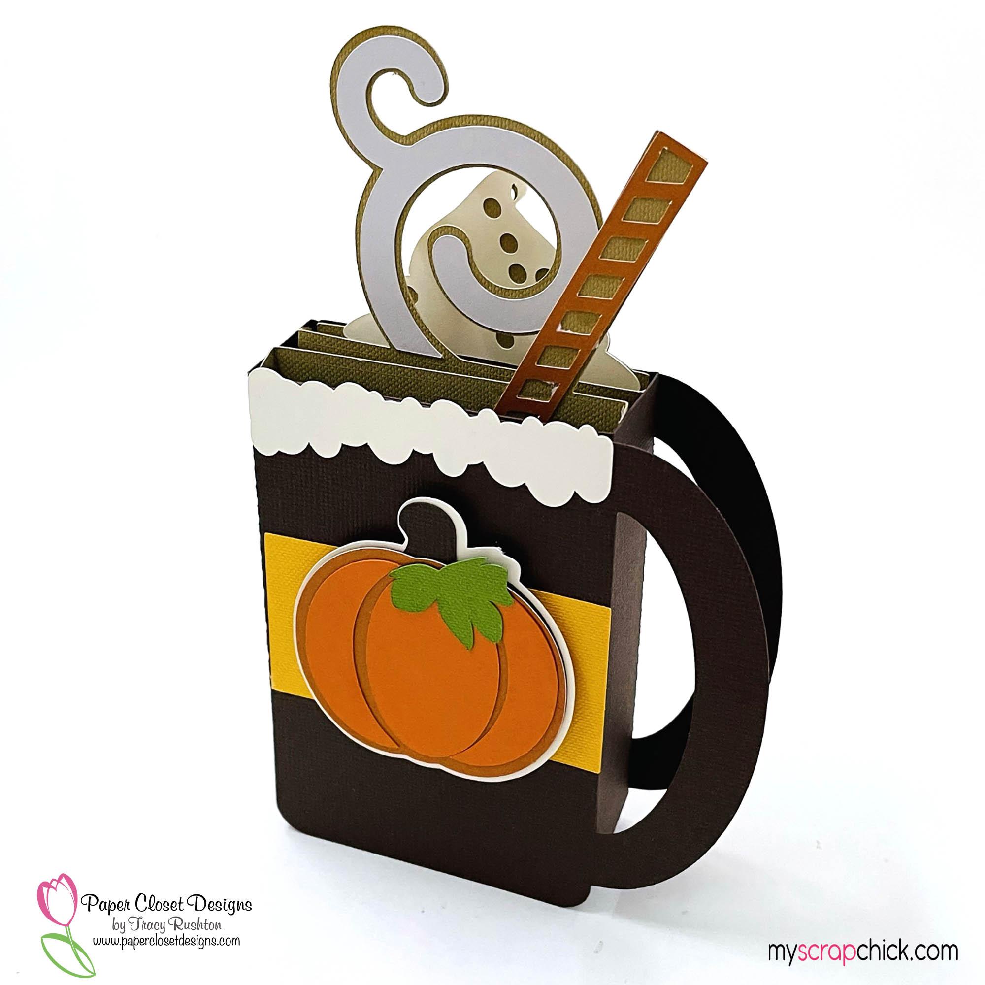 Pumpkin Spice Mug Box Card 2