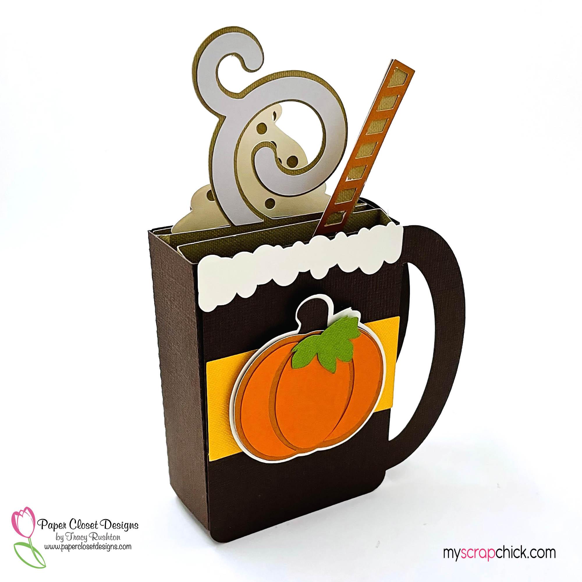 Pumpkin Spice Mug Box Card 3