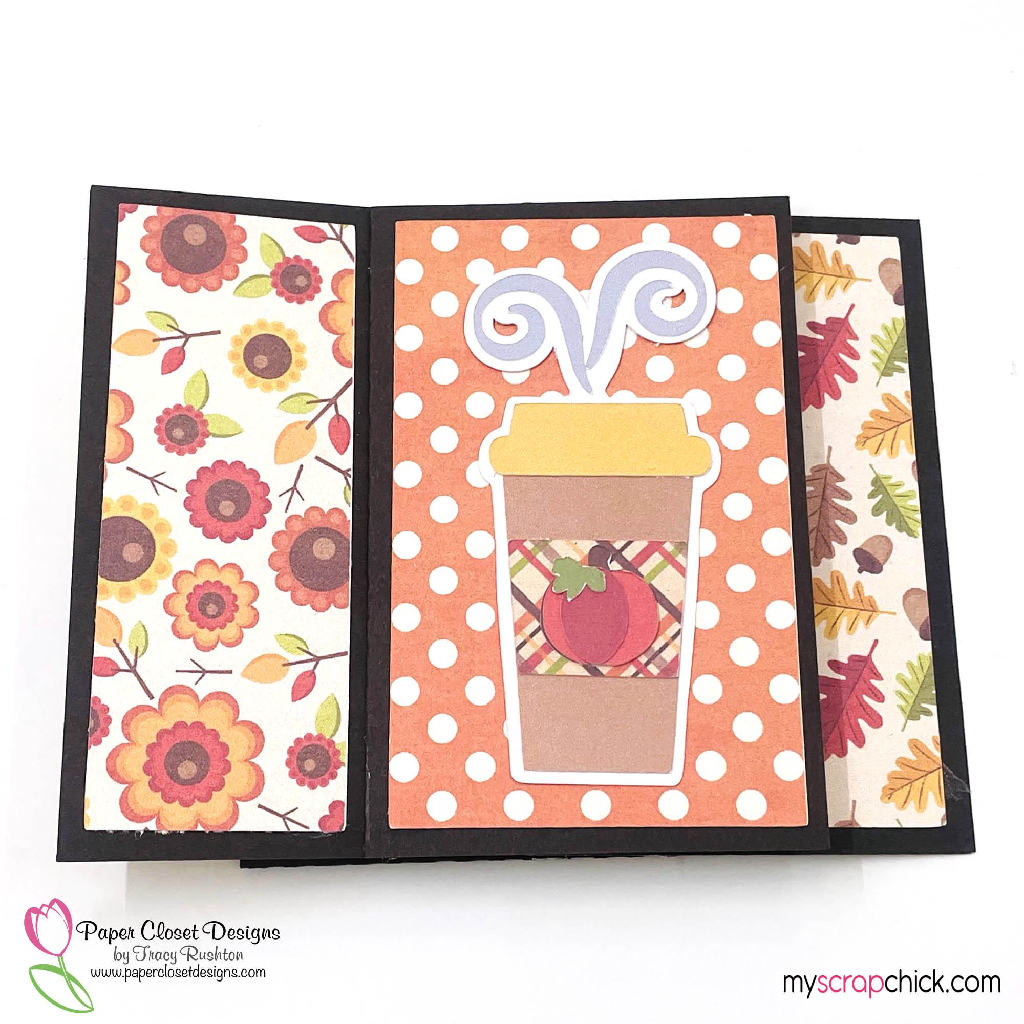 Pumpkin Spice Mug Pinwheel Twist Card