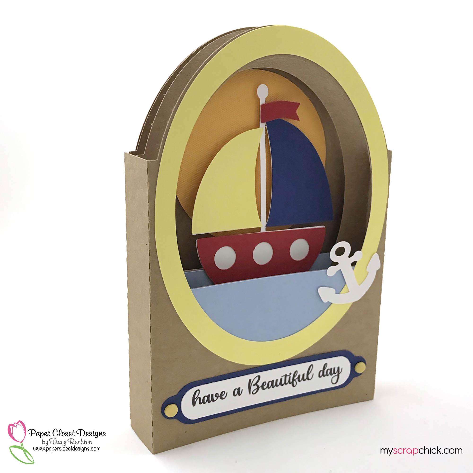 Sailboat Tunnel Card