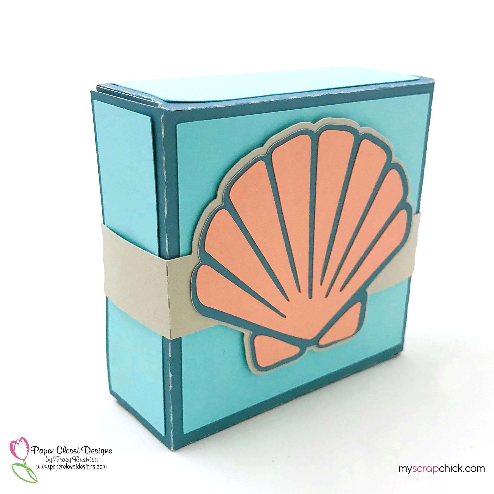 Sea Shell Hinged Box 2