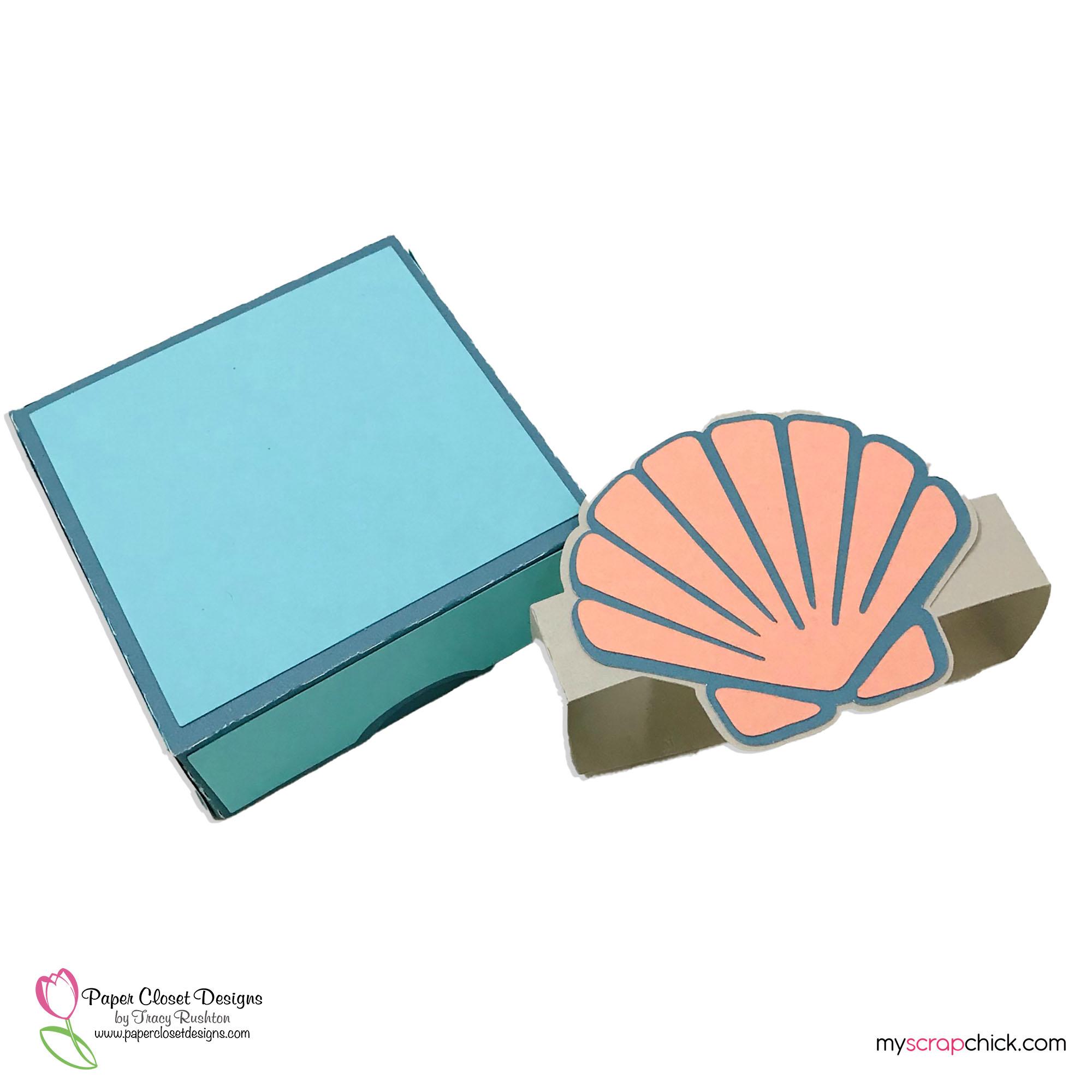 Sea Shell Hinged Box 4