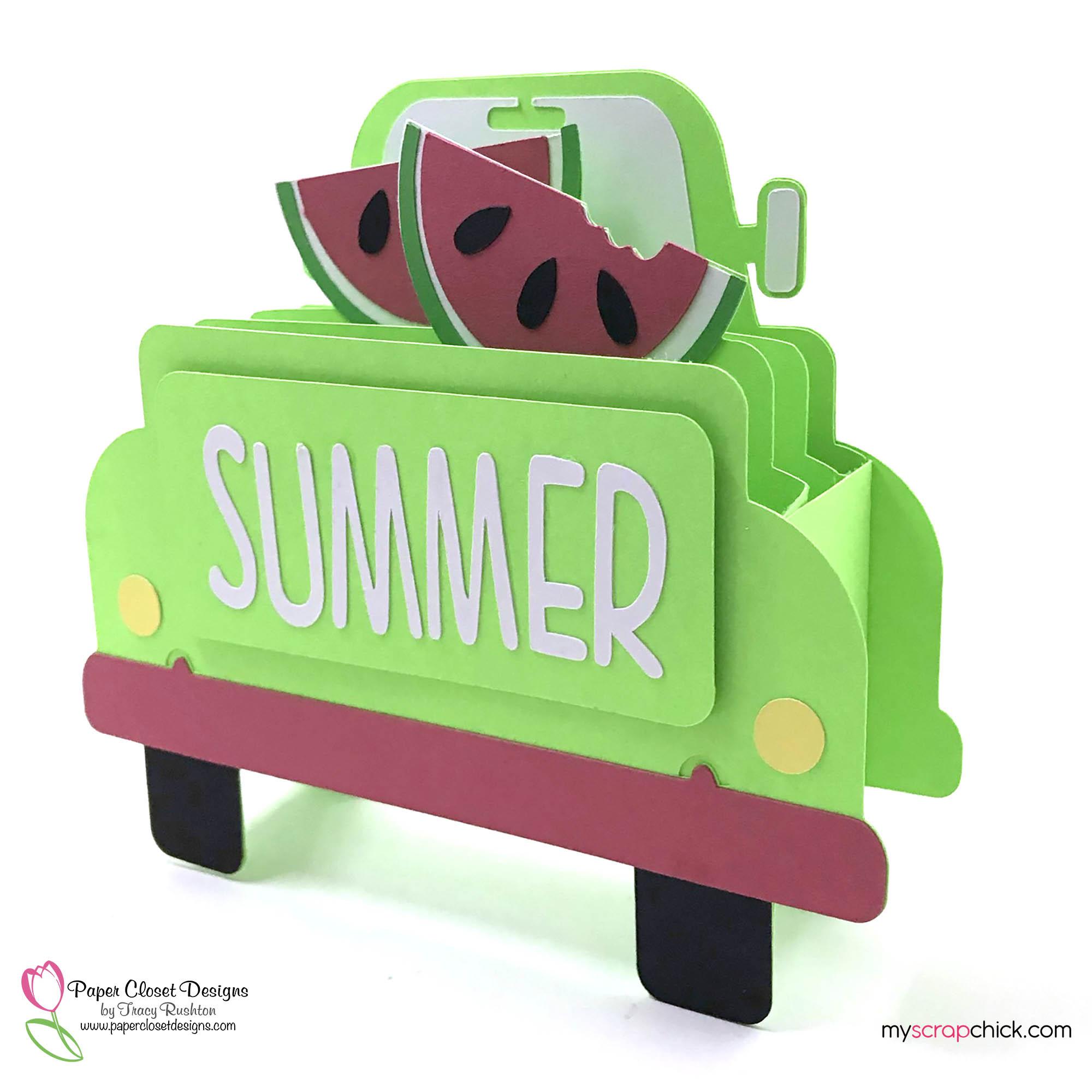 Summer Truck Box Card 1