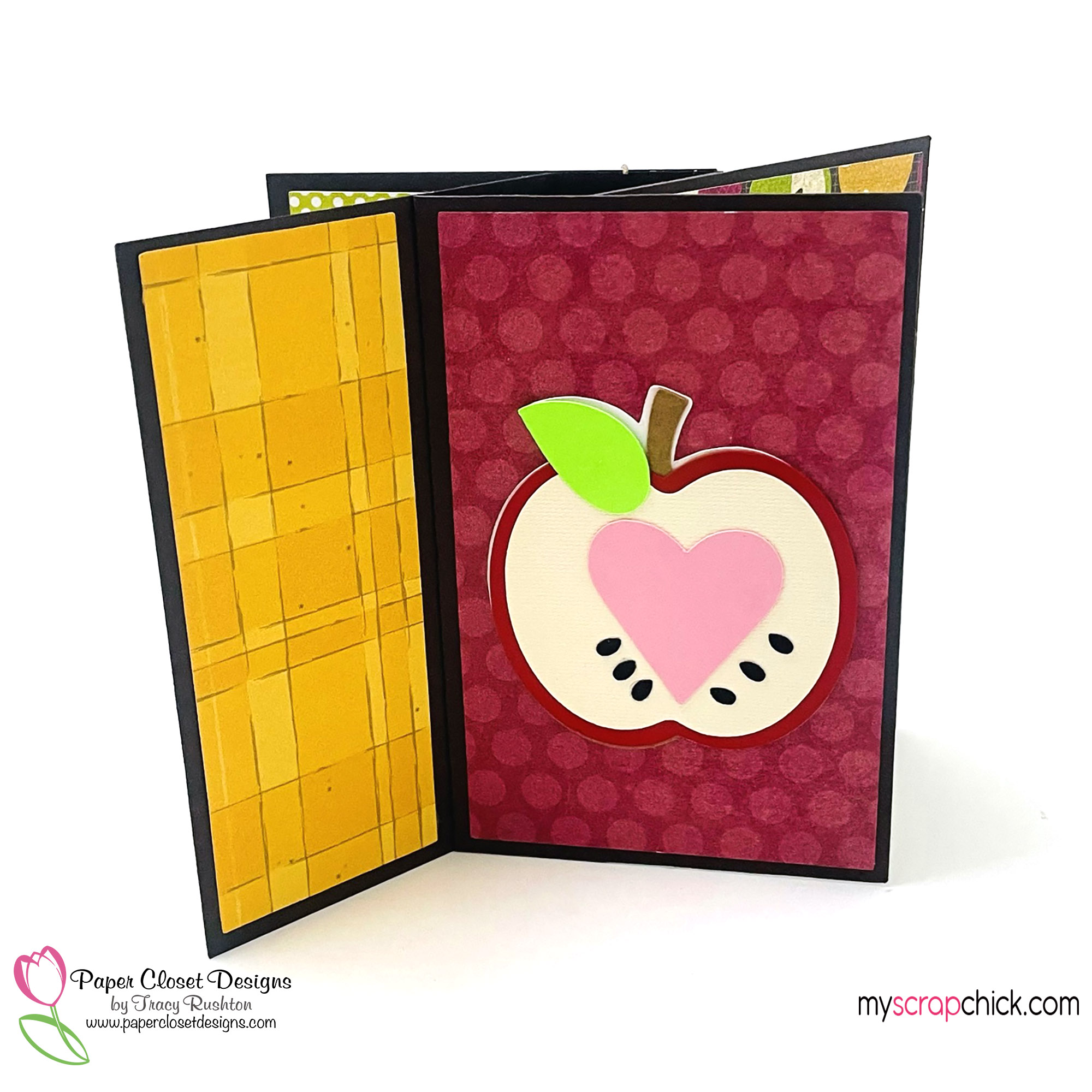 Apple Pinwheel Twist Card 1