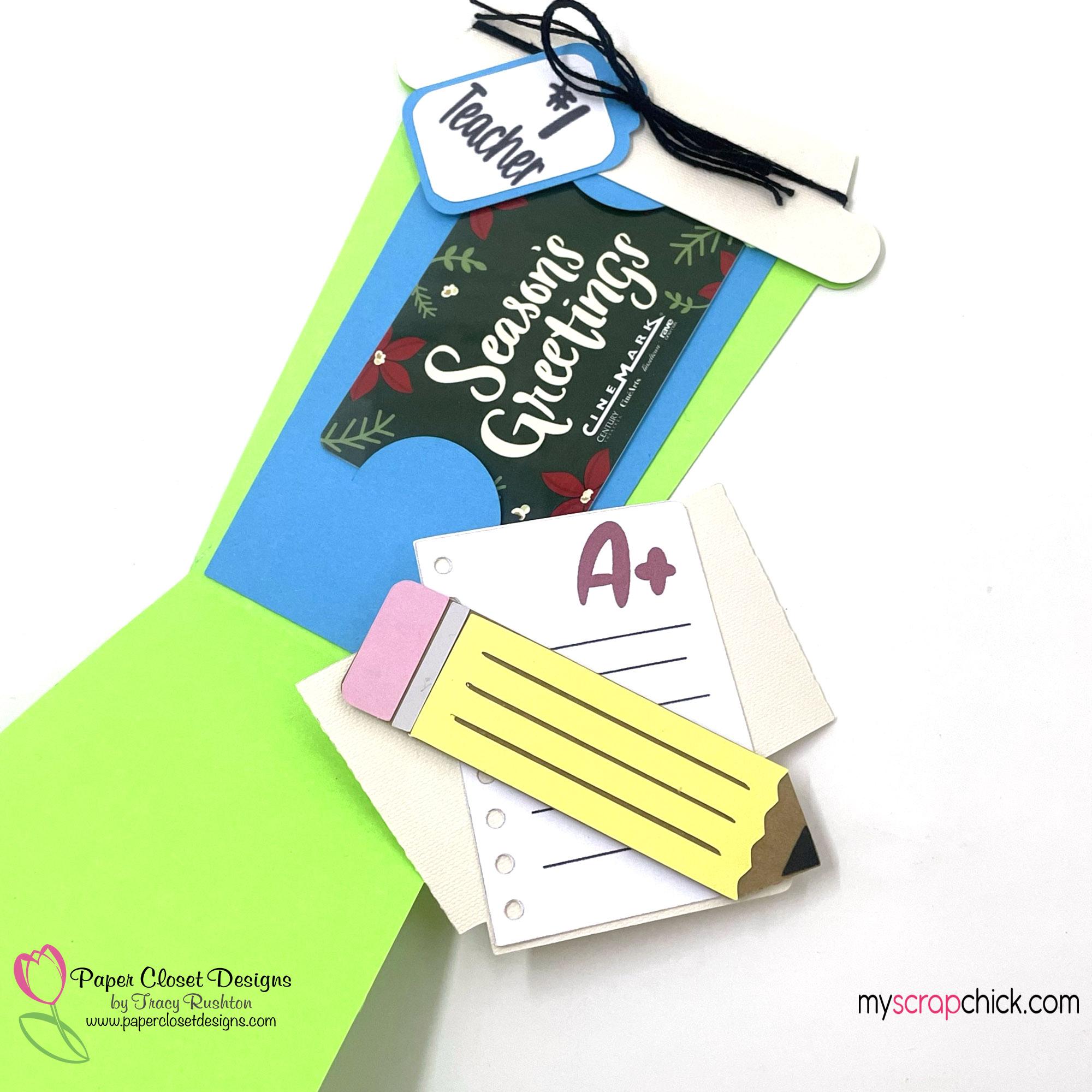 Teacher Mug and Sleeve A2 Card inside