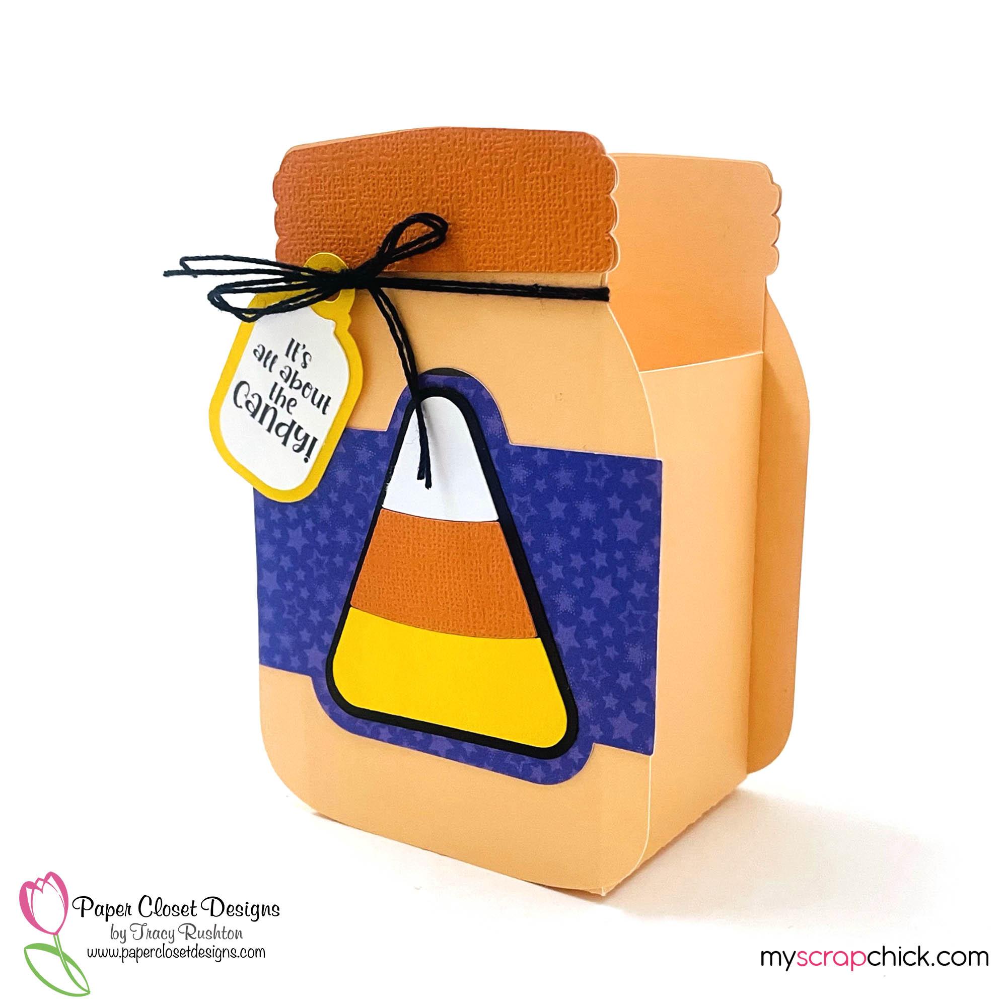 Candy Corn Jar Box