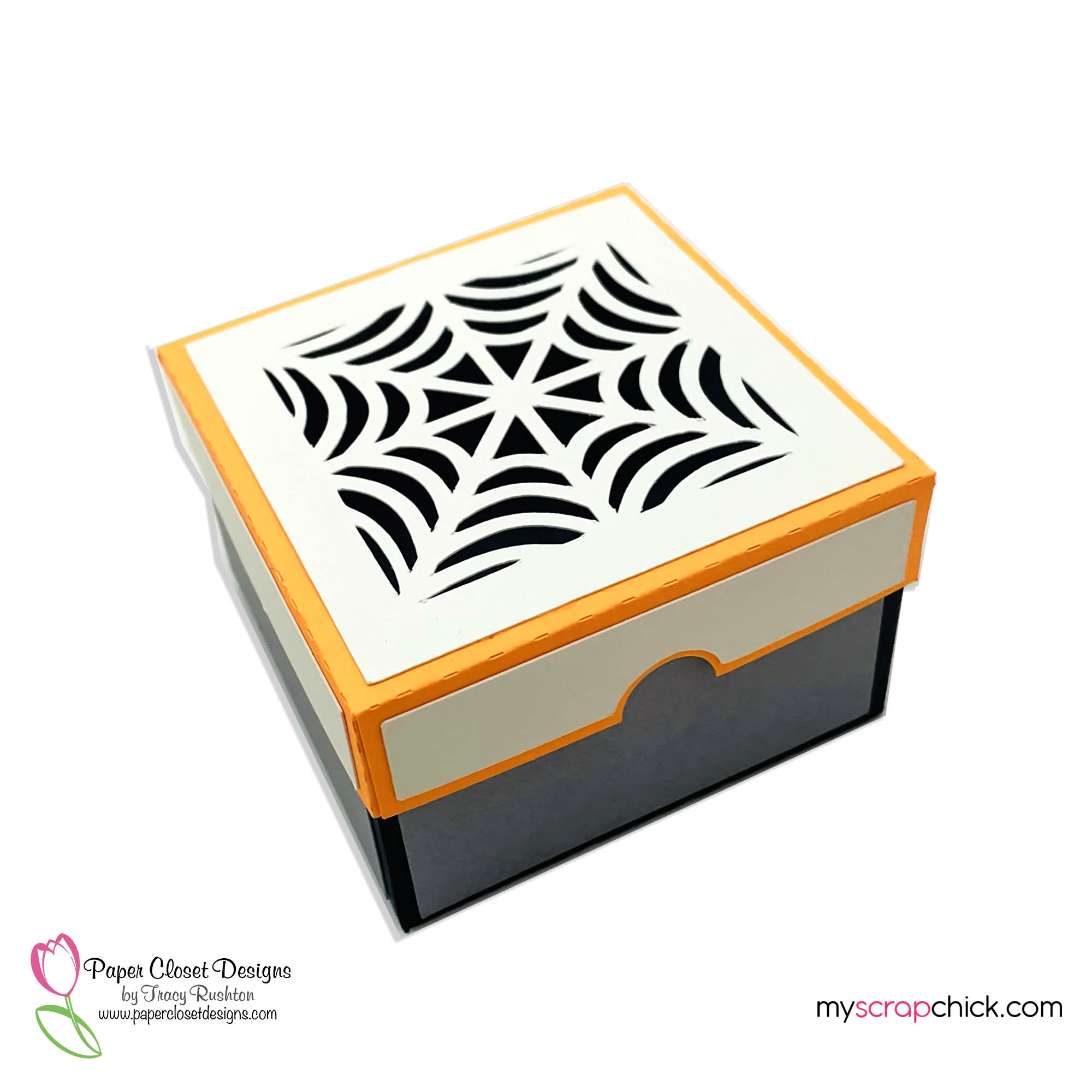Halloween Large Candy Box with Peek A Boo Liner