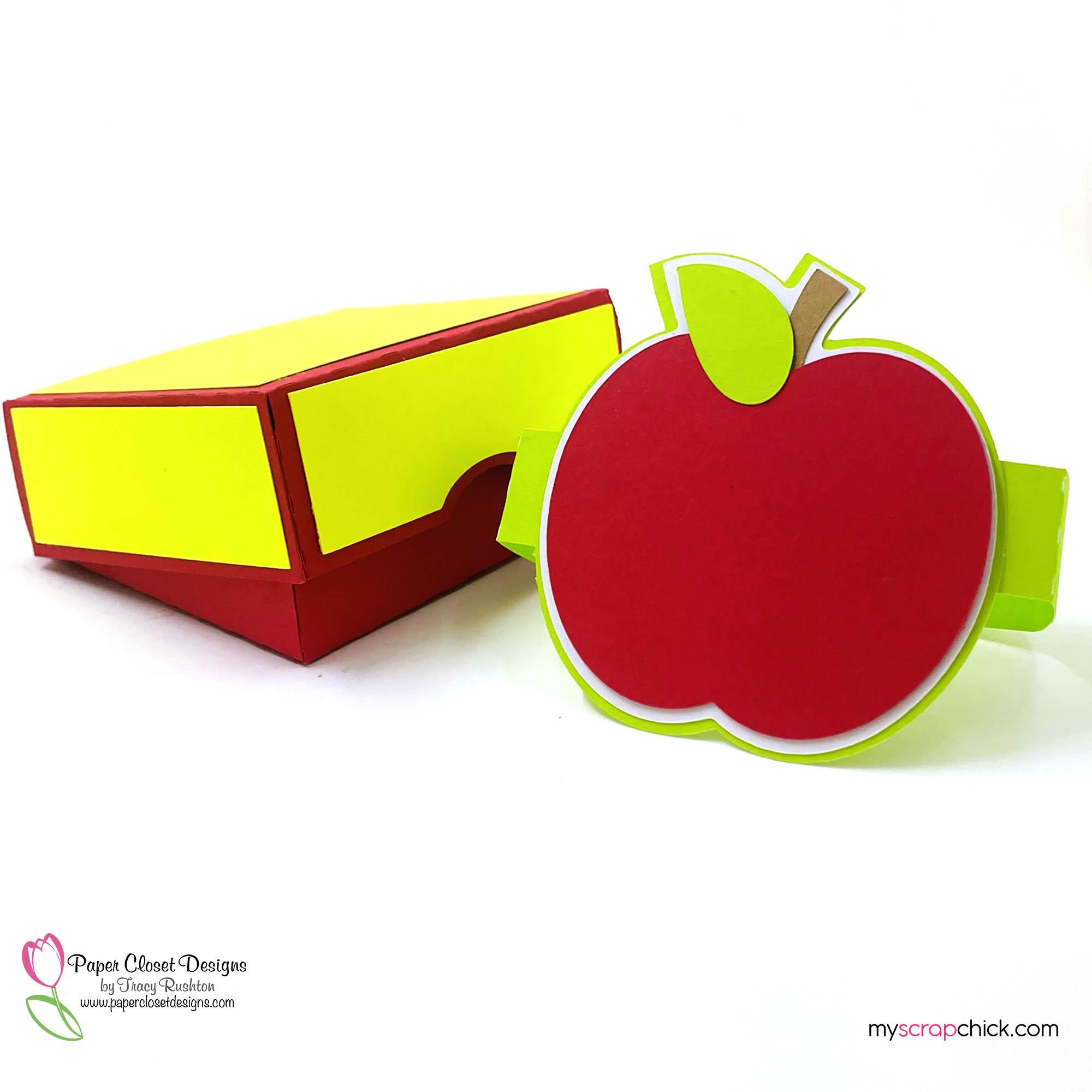 Hinged Apple Box Open